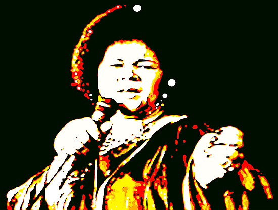 """AT LAST: ETTA JAMES TRIBUTE"" by SOL  SKETCHES™"