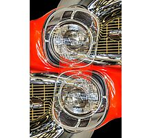 '57 Chevy Bel Air Lights Photographic Print