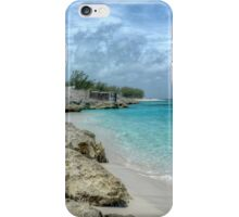 Beach in Paradise island, The Bahamas iPhone Case/Skin