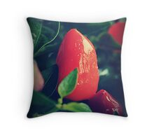 Chilli or Two Throw Pillow