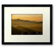 Sunrise on Tajumulco II Framed Print