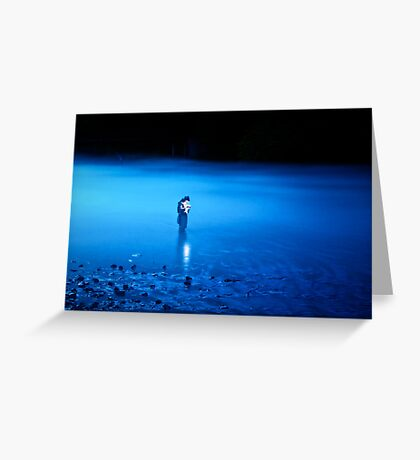 Solitary Light Greeting Card