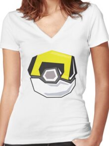 U.B. Women's Fitted V-Neck T-Shirt
