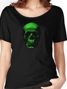 Skull No.2 - Cemetery Green Women's Relaxed Fit T-Shirt