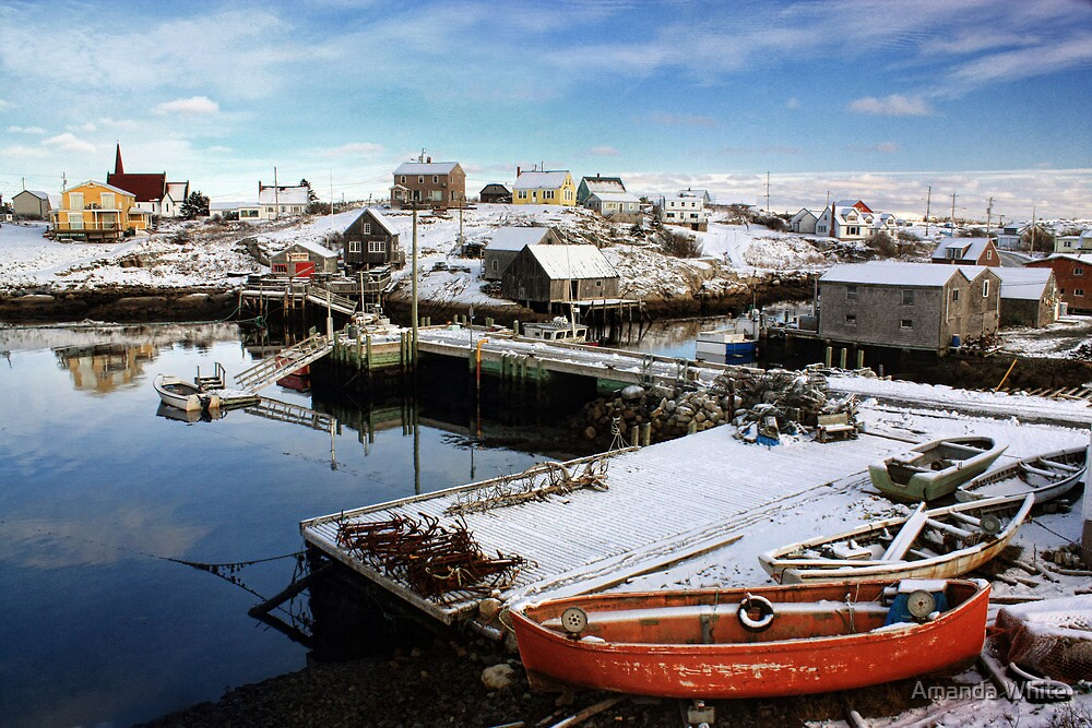 Peggy's Cove Harbour by Amanda White