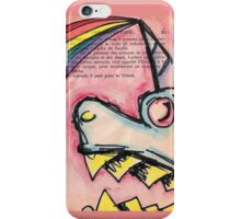 Rabid Unicorn iPhone Case/Skin