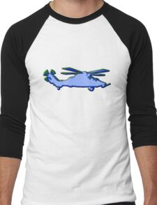Tiger - ARH - Blue Men's Baseball ¾ T-Shirt