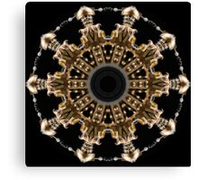 Dalek Kaleidoscope 07 Canvas Print