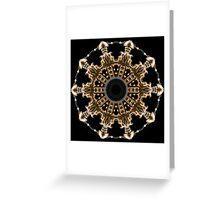 Dalek Kaleidoscope 07 Greeting Card