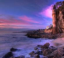 Victoria Beach at Dusk by Eddie Yerkish