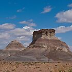 Arizona Desert and Mesa by Jeff Goulden
