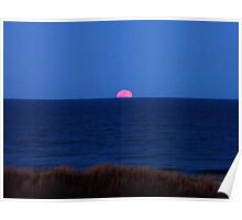 Super Moon Rising 3/19/11 Poster
