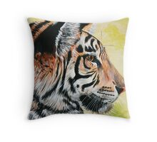 The Hunter and the hunted Throw Pillow