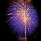 Purple Fireworks, Busselton 2012 by Julia Harwood