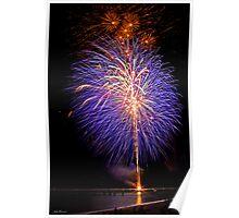 Purple Fireworks, Busselton 2012 Poster
