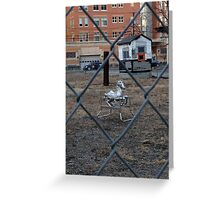 The Silver Hobby Horse - 2 Greeting Card