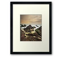 """A Journey's End"" ∞ Haycock Point, NSW - Australia Framed Print"