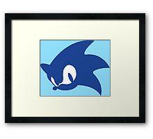 Sonic Logo Framed Print