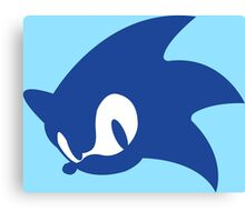 Sonic Logo Canvas Print