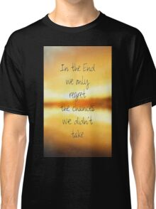 hipster background Classic T-Shirt