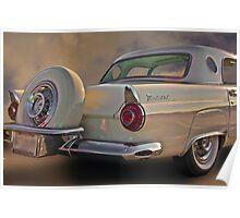 1956 Thunderbird w/Continental Kit Poster