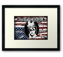 God Save The King Framed Print
