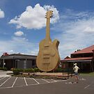 Big Golden Guitar - Tamworth, NSW, Australia by Joe Hupp