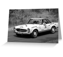 Mercedes Benz 280SL Greeting Card