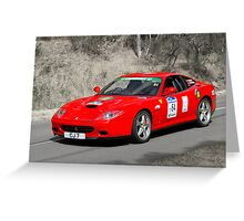 Ferrari 575M Maranello Greeting Card