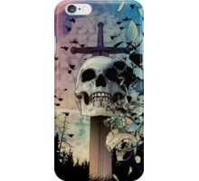Fear cuts deeper than Swords iPhone Case/Skin