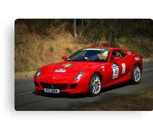 Ferrari 599 F1 Canvas Print