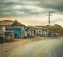 Little Tire Shop in Colombia by BobbiFox