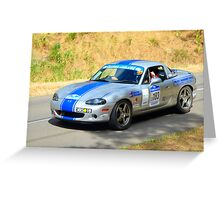 Mazda MX5 SE Greeting Card