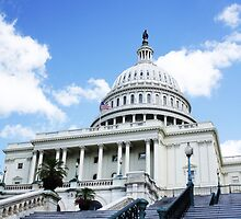 Capitol at Midday by tech12