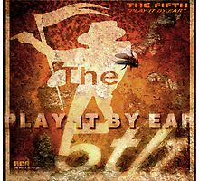 "Album Cover - ""The Fifth"" - (Play It By Ear) by Simon Groves"