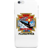 SSN-779 USS New Mexico Logo Plank Owner iPhone Case/Skin