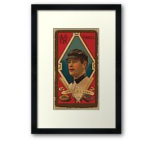 Benjamin K Edwards Collection Harold W Chase New York Yankees baseball card portrait Framed Print