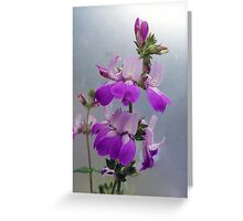 Flowers. Greeting Card