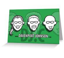 Davenport Johnson website FACES  Greeting Card