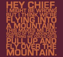 Cabin Pressure: Hey Chief by incorruptible