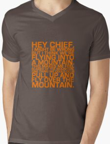 Cabin Pressure: Hey Chief Mens V-Neck T-Shirt
