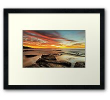 A Time to Think Framed Print