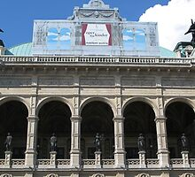 Arches, Vienna State Opera House by Jenny Brice