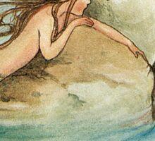Vintage Mermaid Atwell Sticker