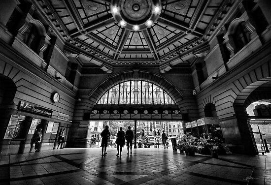Flinders Street Station by Mieke Boynton