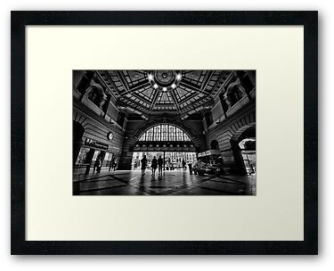 Flinders Street Station by Mieke Boynton