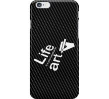 Art v Life - Carbon Fibre Finish iPhone Case/Skin