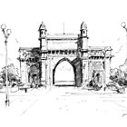 Gateway of India  by Jeffrey Phillips