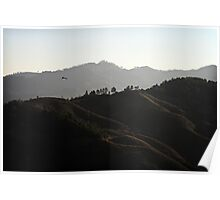 Lahu Mountains Poster