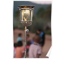 Lahu Mountain Lantern Light Poster